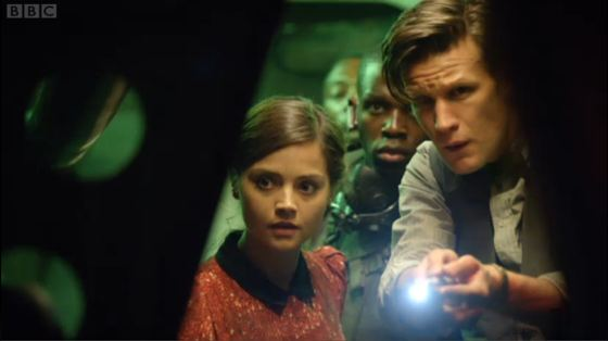 Doctor Who Journey to the Centre of the TARDIS Jenna-Louise Coleman Jahvel Hall Matt Smith