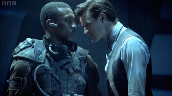 Doctor Who Journey to the Centre of the TARDIS Matt Smith Ashley Walters
