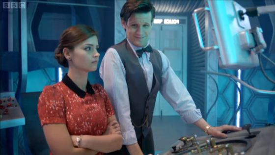 Doctor Who Journey to the Centre of the TARDIS Jenna-Louise Coleman Matt Smith