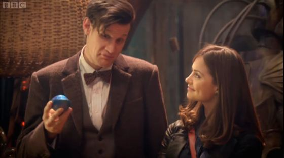Doctor Who The Rings of Akhaten Matt Smith Jenna-Louise Coleman