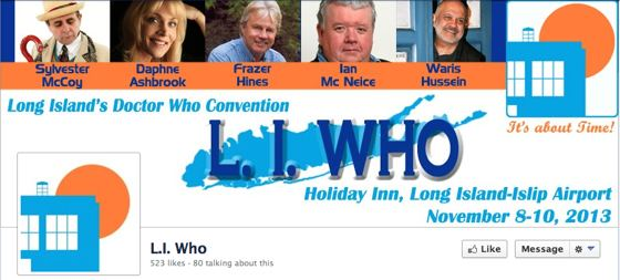 L.I. Who Doctor Who convention Long Island New York