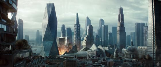 London skyline Star Trek Into Darkness