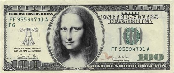 Mona Lisa money