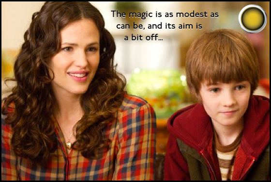 The Odd Life of Timothy Green yellow light Jennifer Garner CJ Adams
