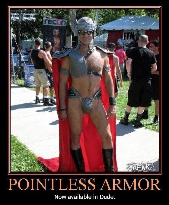 pointless armor