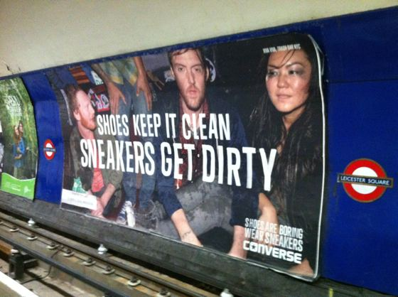 Converse sneakers ad