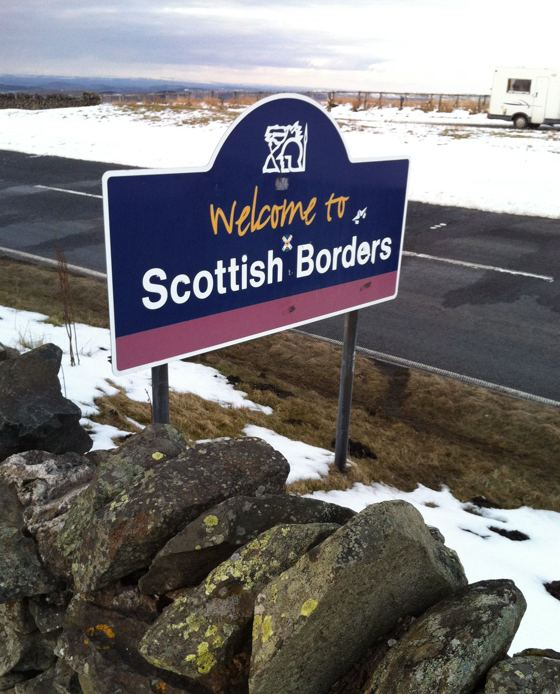 welcome to the Scottish Borders