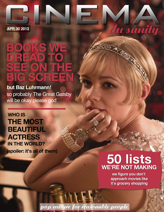 Cinema du Sanity the books-to-movies issue