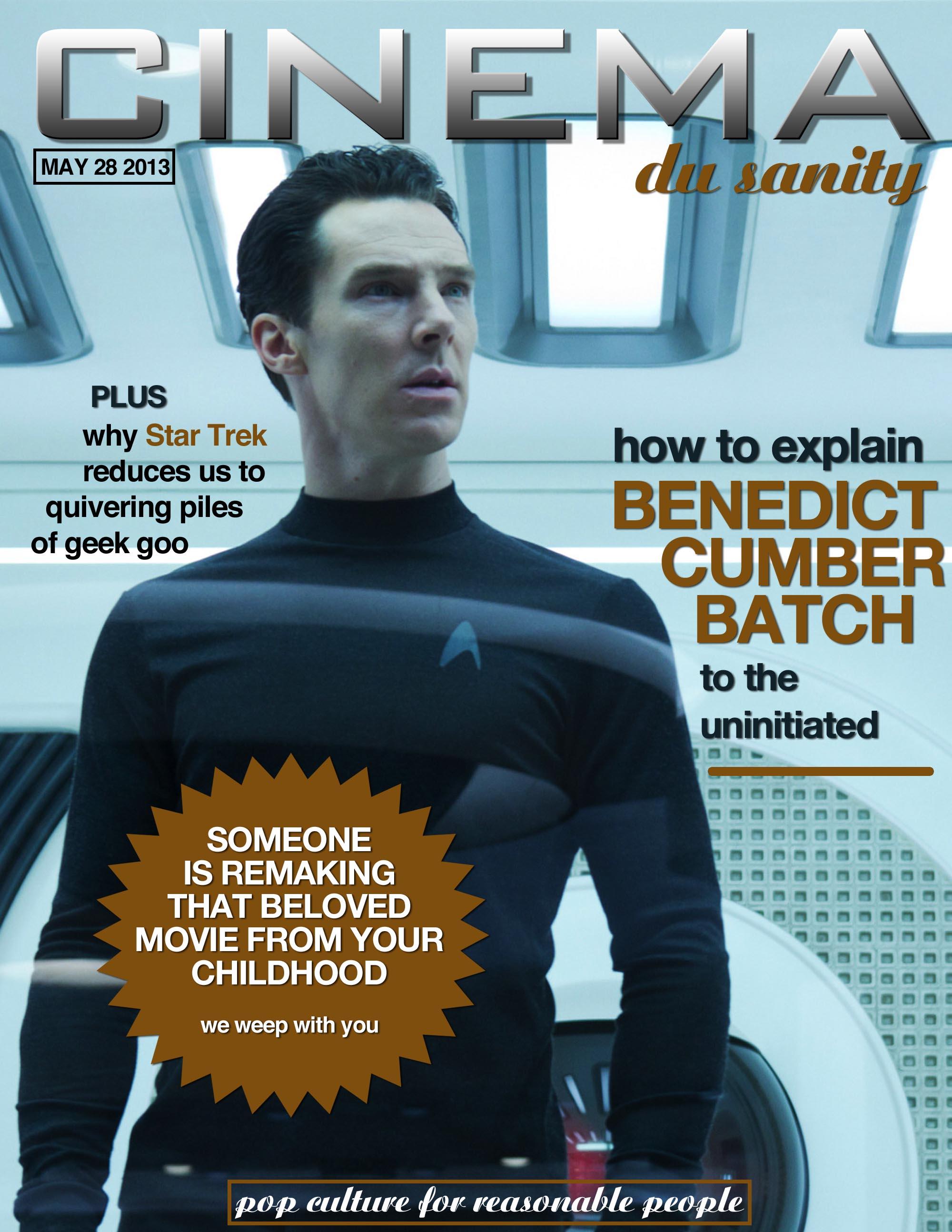 Cinema du Sanity Benedict Cumberbatch