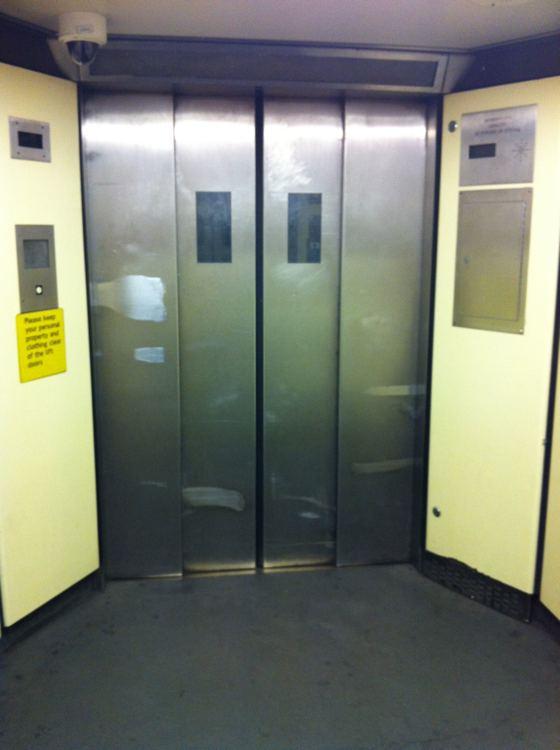 Covent Garden tube lift