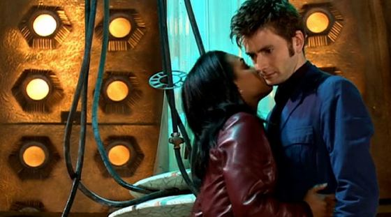 Freema Agyeman David Tennant Doctor Who