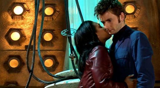 Freema Agyeman David Tennant Doctor Who
