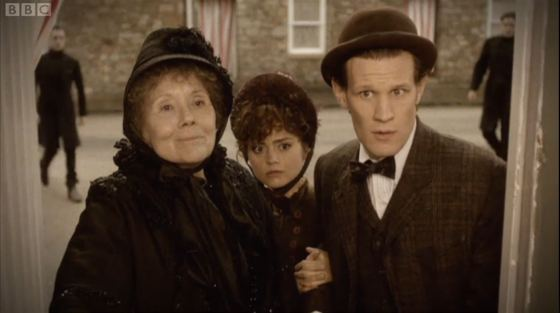 Doctor Who The Crimson Horror Diana Rigg Jenna-Louise Coleman Matt Smith