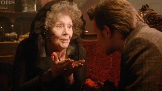 Doctor Who The Crimson Horror Diana Rigg Matt Smith