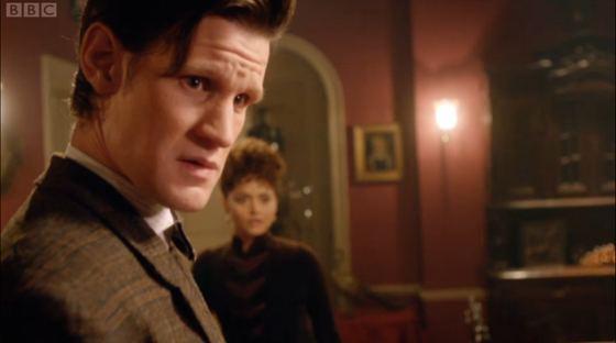 Doctor Who The Crimson Horror Matt Smith Jenna-Louise Coleman