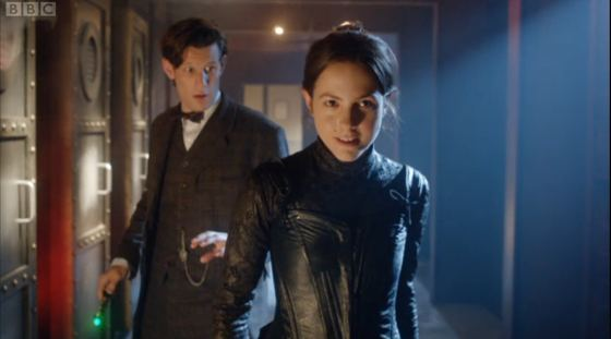 Doctor Who The Crimson Horror Matt Smith Catrin Stewart