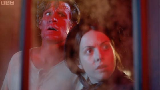 Doctor Who The Crimson Horror Matt Smith Catrin Stewart