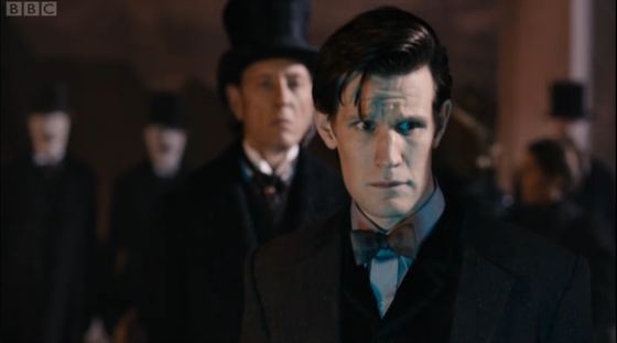 Doctor Who The Name of the Doctor Richard E Grant Matt Smith