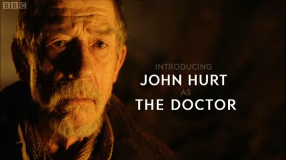 Doctor Who The Name of the Doctor John Hurt