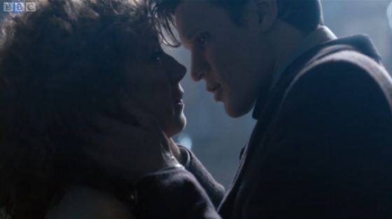 Doctor Who The Name of the Doctor Alex Kingston Matt Smith