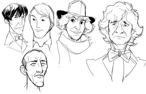 Doctor Who animated Dan Norton