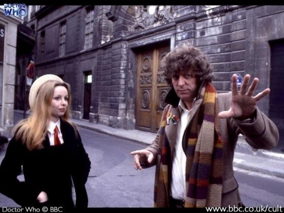 Doctor Who Lalla Ward Tom Baker Paris