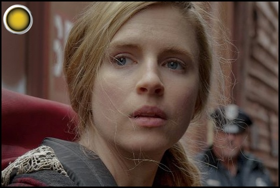 The East yellow light Brit Marling