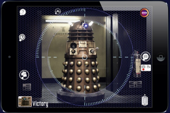 Doctor Who Daleks EyeStalk iOS app
