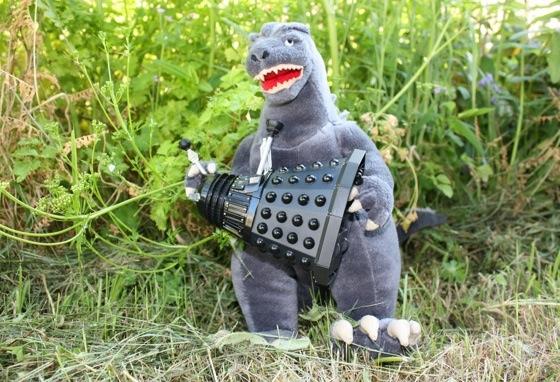 Godzilla beats Dalek