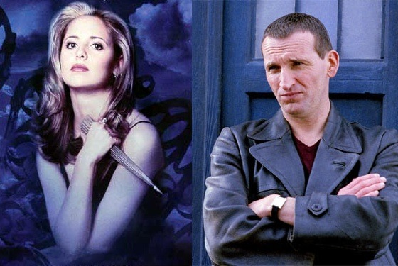 Sarah Michelle Gellar Christopher Eccleston Doctor Who Buffy the Vampire Slayer