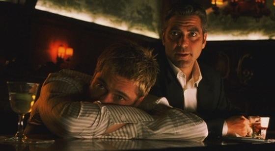Ocean's Eleven Brad Pitt George Clooney