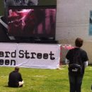 Sheffield photo of the day: watching movies outside