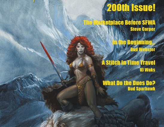 sexist SFWA Bulletin cover
