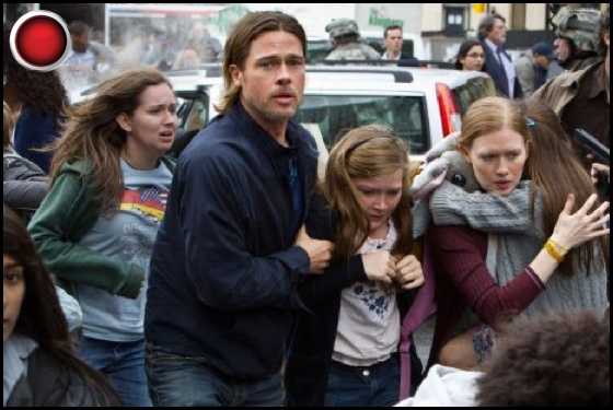 World War Z red light Brad Pitt