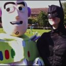 English school summer fete photo of the day: Buzz and Batman