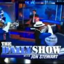 "Doctor Who thing: ""I Am the Doctor"" makes an appearance on The Daily Show, played by a marching band"