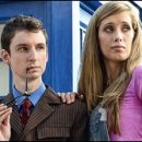 Doctor Who thing: adorable geek couple's adorable Tenth Doctor-themed engagement photos