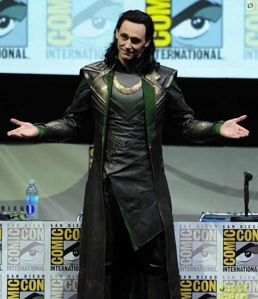 Tom Hiddleston Loki Comic-Con