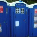 Doctor Who thing: you really must be careful around blue boxes…