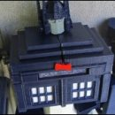 Doctor Who thing: TARDIS Transformer toy (you can make yourself)