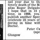 Doctor Who thing: Peter Capaldi, teenaged Doctor Who geek