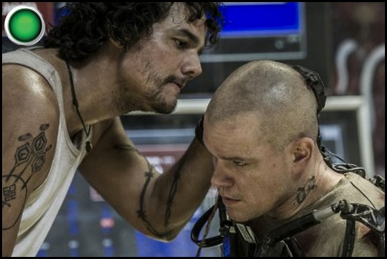 Elysium green light Wagner Moura Matt Damon