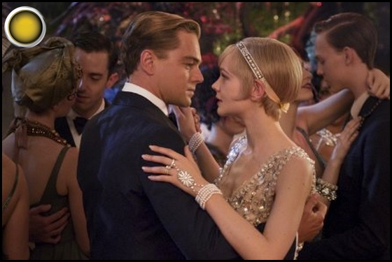 The Great Gatsby yellow light Leonardo DiCaprio Carey Mulligan