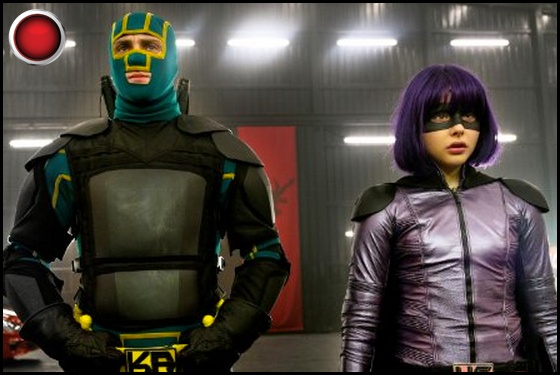 Kick-Ass 2 red light Aaron Taylor-Johnson Chloe Grace Moretz