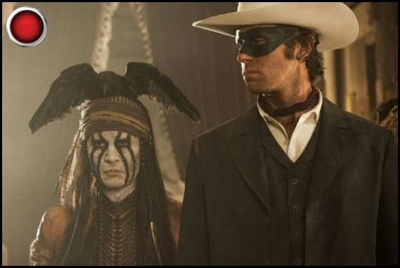 The Lone Ranger red light Johnny Depp Armie Hammer