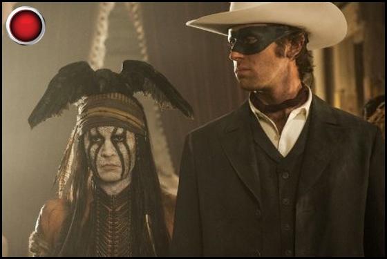 The Lone Ranger red light Johnny Depp Armie Hammer