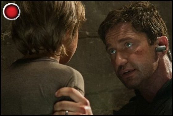 Olympus Has Fallen red light Gerard Butler