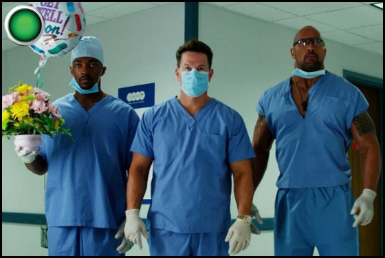 Pain and Gain green light Anthony Mackie Mark Wahlberg Dwyane Johnson