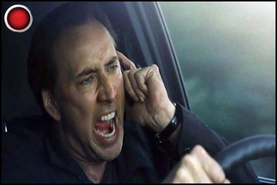 Stolen red light Nicolas Cage