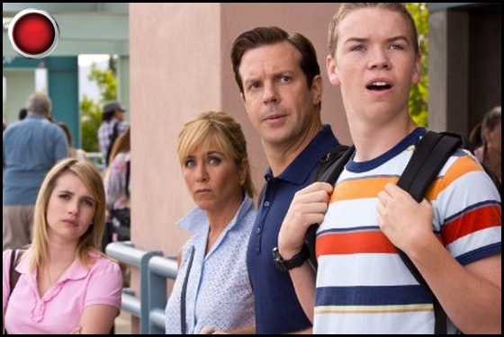 We're the Millers red light Emma Roberts Jennifer Aniston Jason Sudeikis Will Poulter